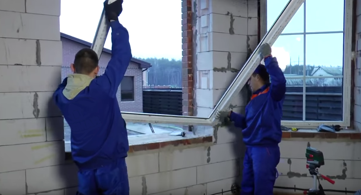 Пластиковые окна своими руками