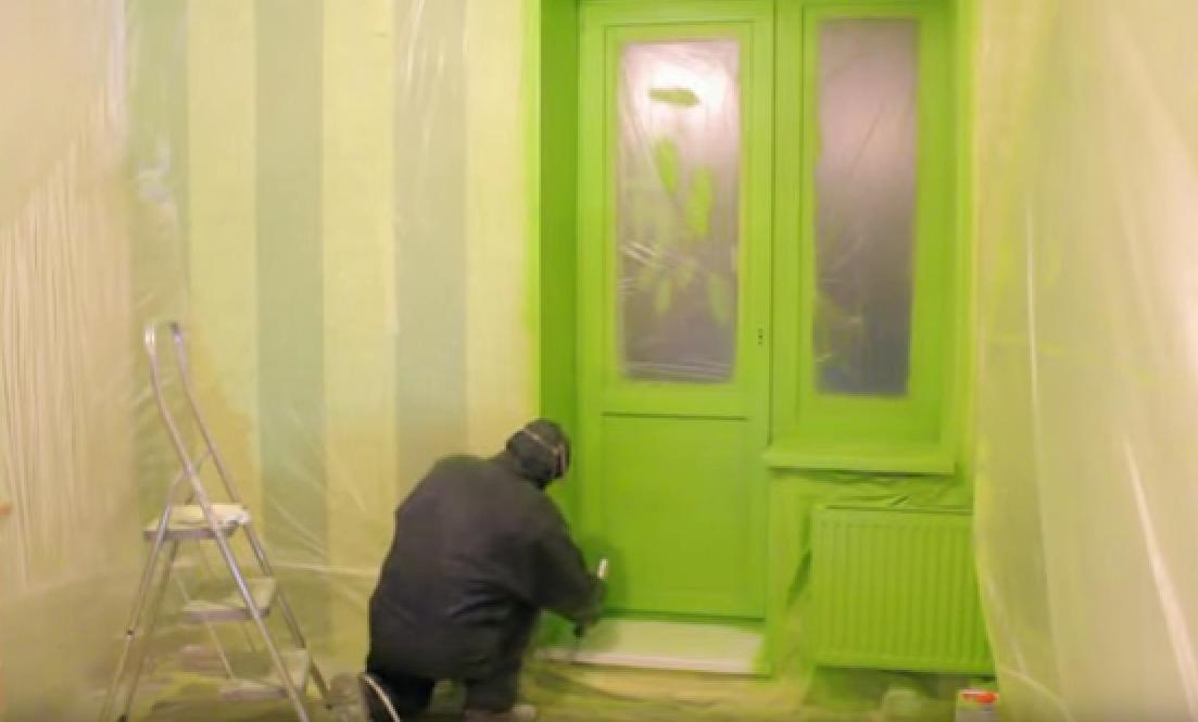Пластиковые окна можно красить