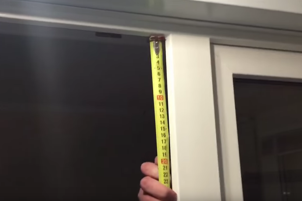 Как правильно замерить пластиковое окно