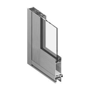 Алюминиевые окна, двери, витражи «холодные»