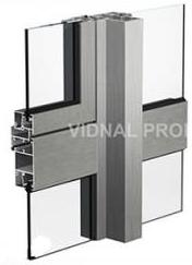 Навесное «холодное» остекление VIDNAL СПЛ-01, 03