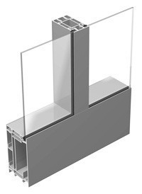Внутренние алюминиевые и цельностеклянные перегородки