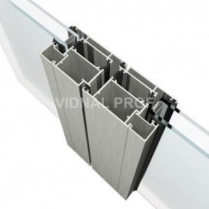 «Теплое» остекление дверей VIDNAL V60D