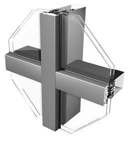 Фасадная стоечно-ригельная система VIDNAL F50 SR