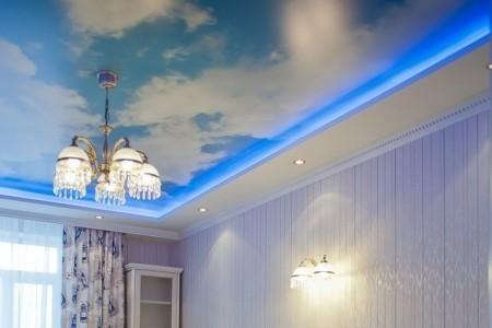 «Парящие» потолки